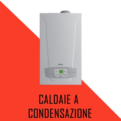 Caldaia a condensazione Immergas Roma